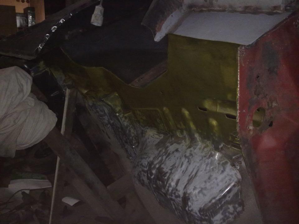 989668s 960 - Лонжерон ваз 2109 - ремонт, замена