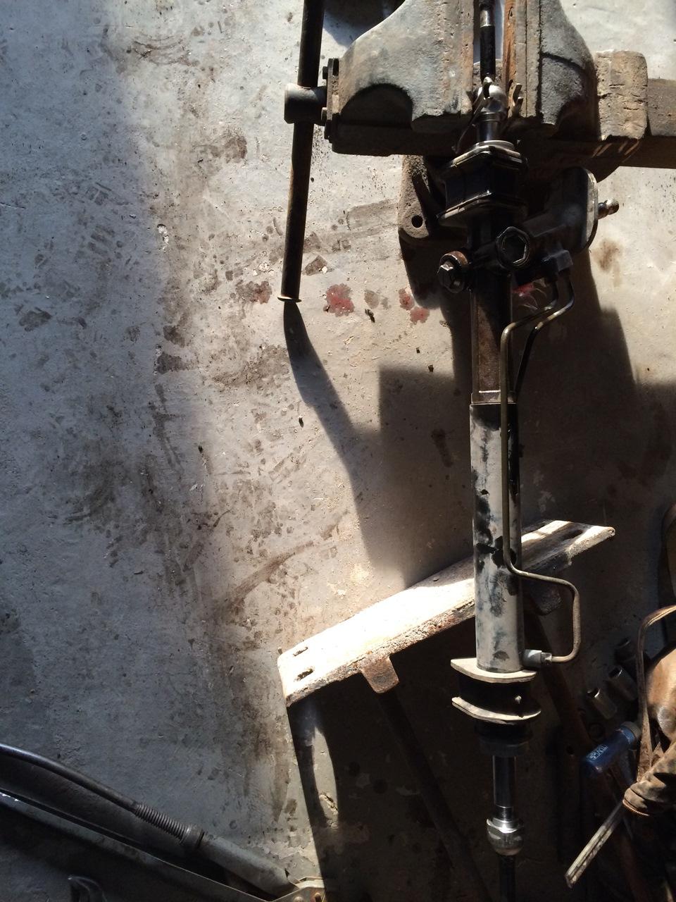 Рулевая рейка шевроле авео т300