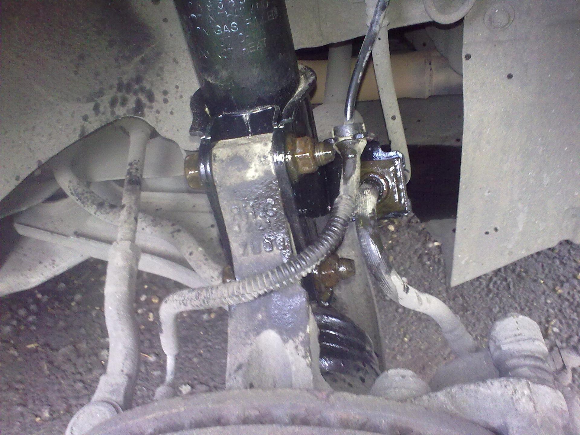 Ремонт своими руками ниву шевроле замена переднего моста