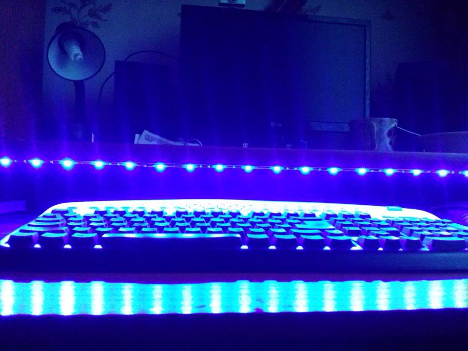 лексус как самому сделать подсветку клавиатуры фотоотчет дуэт