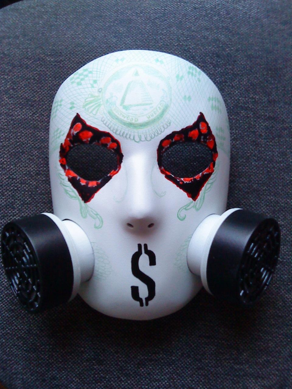 Hollywood undead маска своими руками фото 425