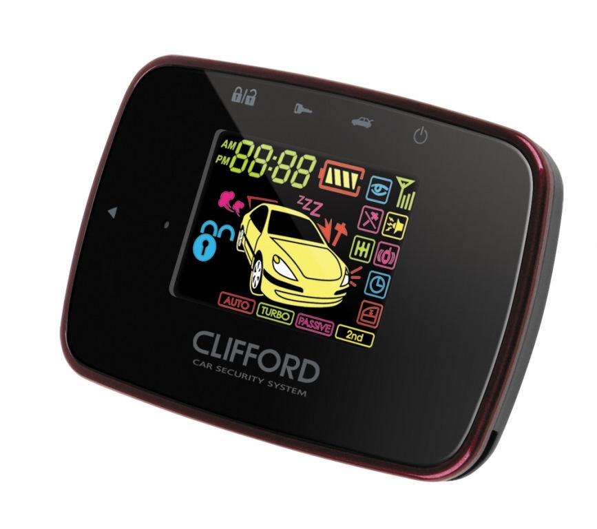 автосигнализация с автозапуском clifford matrix 350