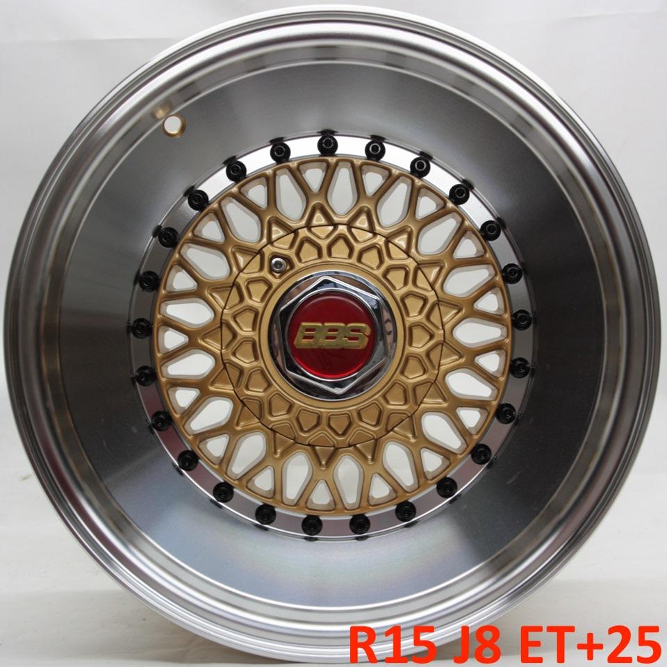 BBS RS R15 J8 ET+25 4x100/114 3 — DRIVE2