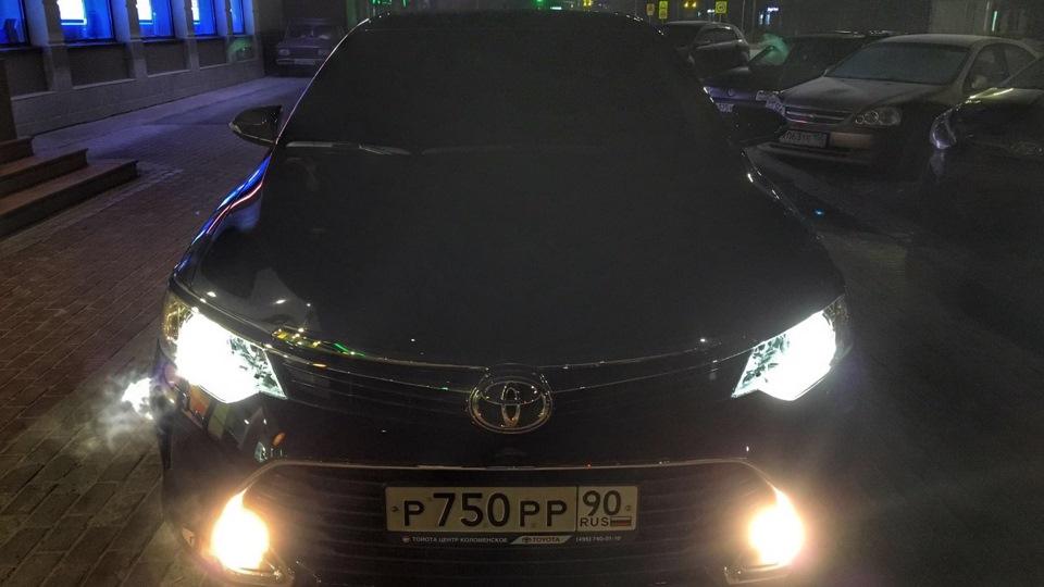 тойота камри 2016 фото черная