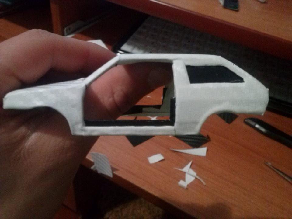 Как сделать модель машины