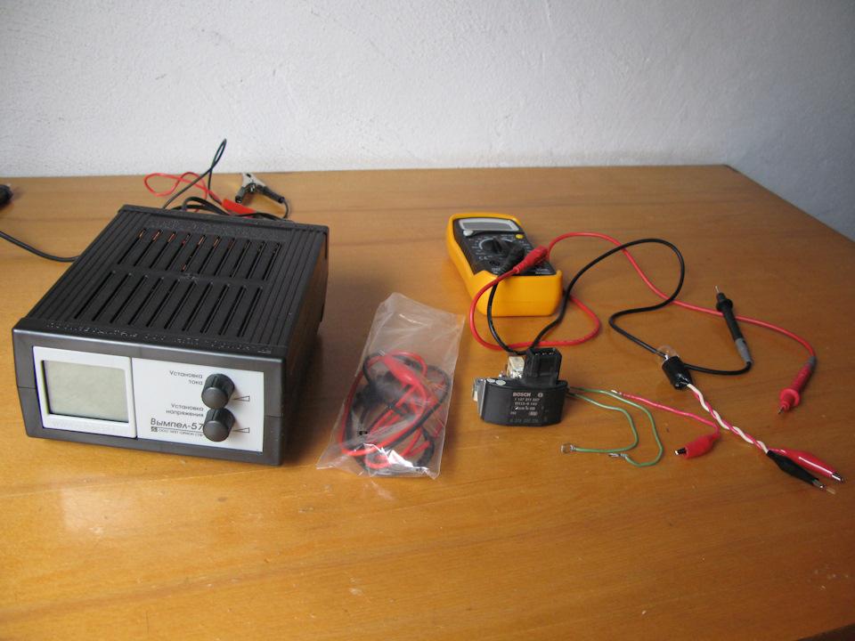 Проверка реле зарядки генератора