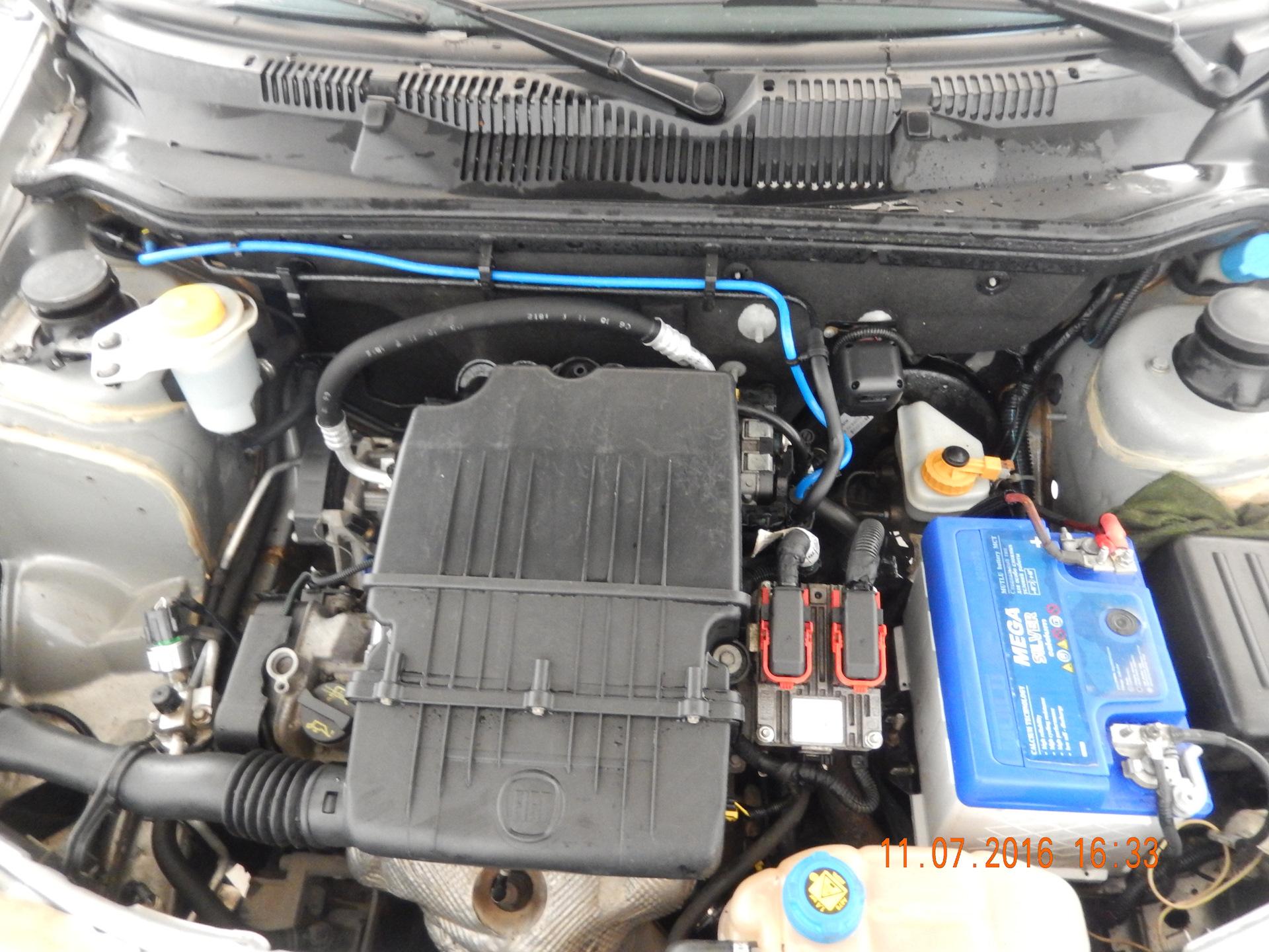 двигатель работает только на холостых фиат альбеа