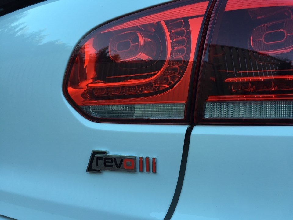 REVO badges — logbook Volkswagen Golf GTI 2010 on DRIVE2