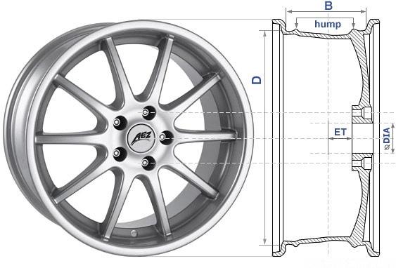 размер колес на мерседес вито