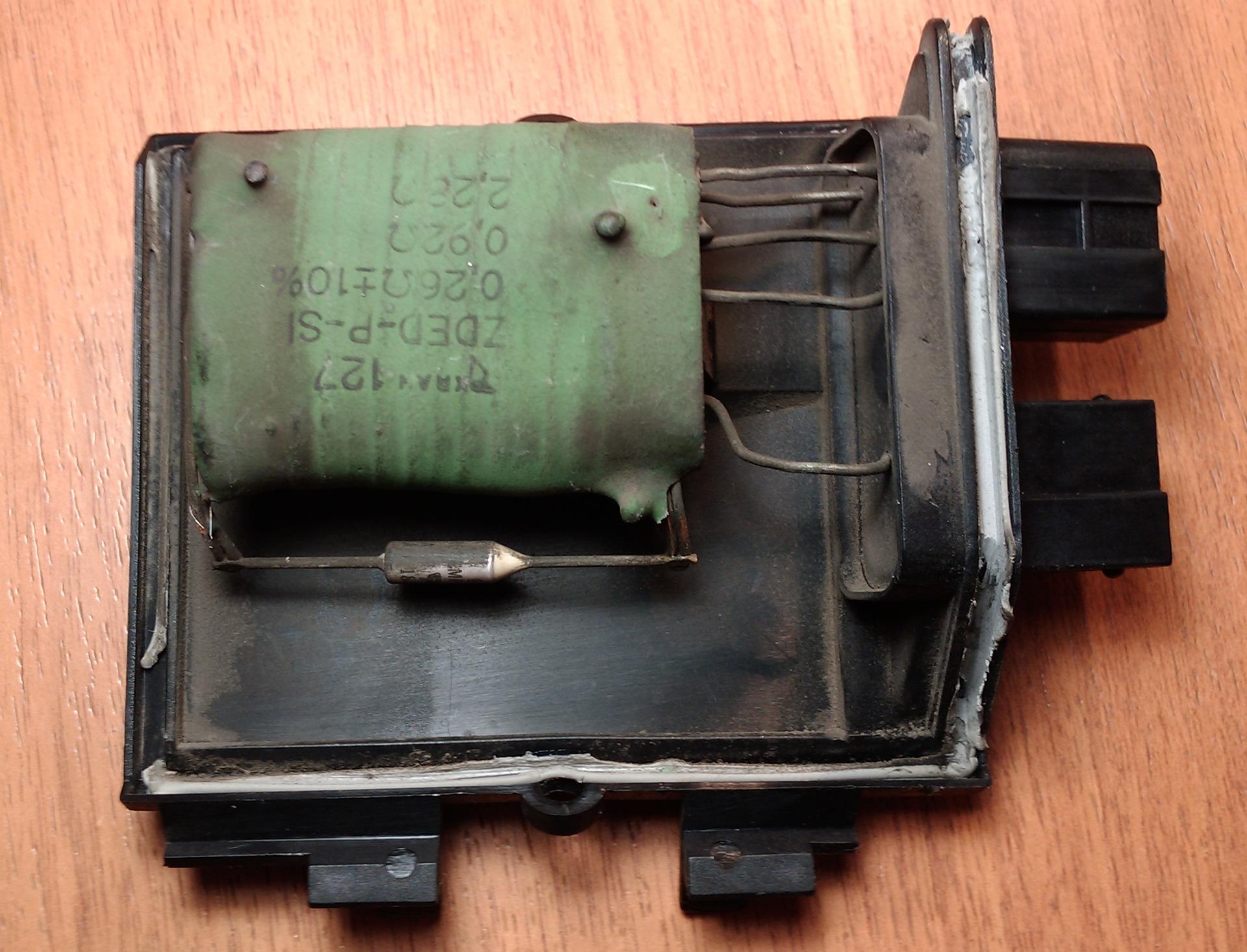 не работает вентилятор отопителя на фольксваген кэдди-2