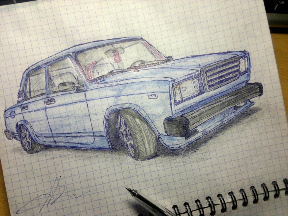 Рисовать с ручкой