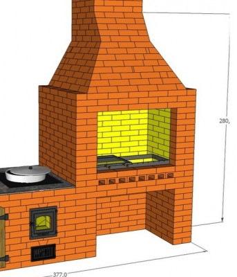Проекты барбекю с казаном бесплатно беседки-барбекю из камня