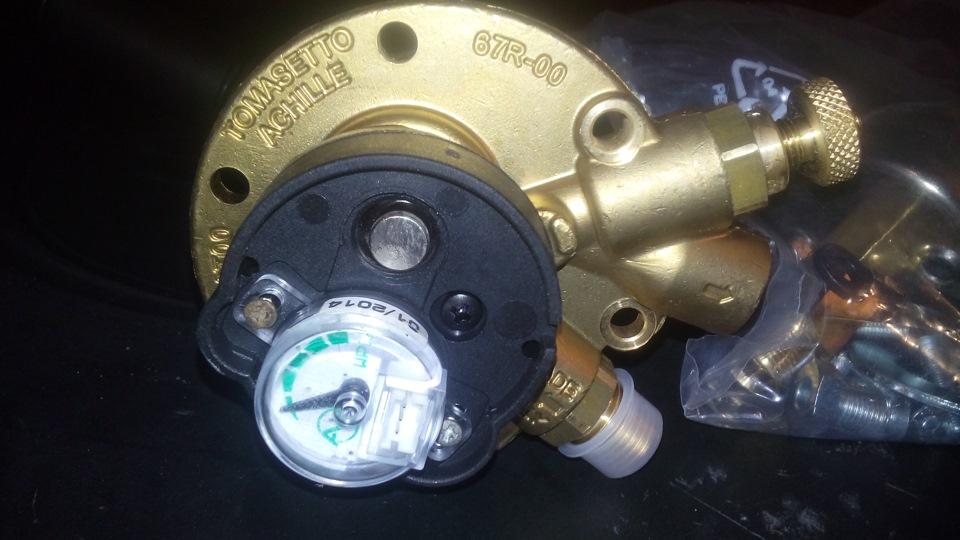 как установить датчик уровня газа на мультиклапан