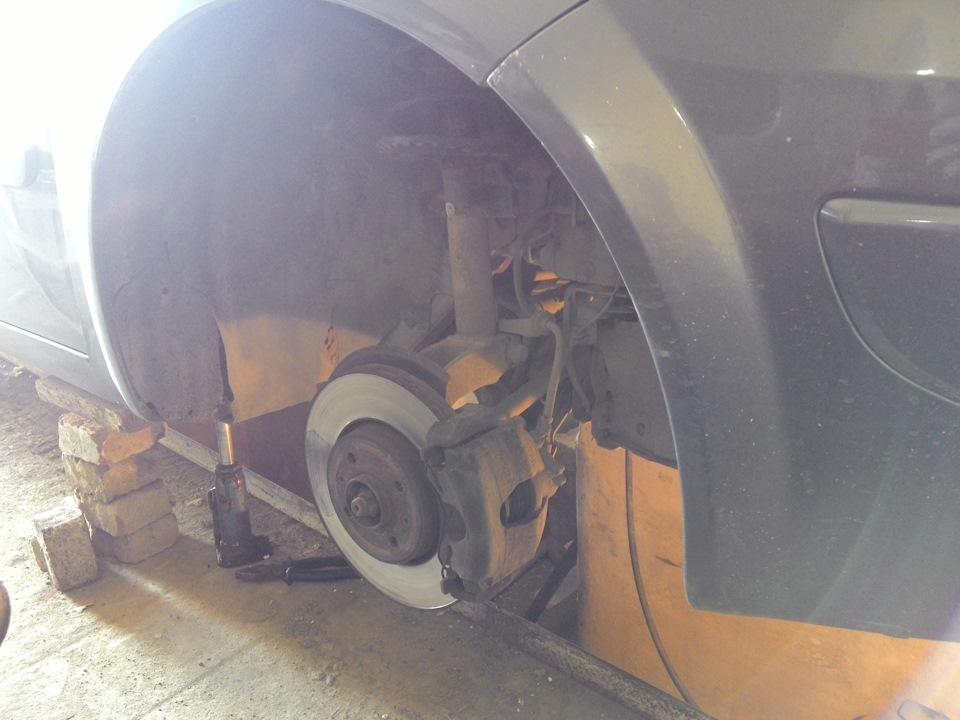 Рычаг подвески рено меган 2 замена