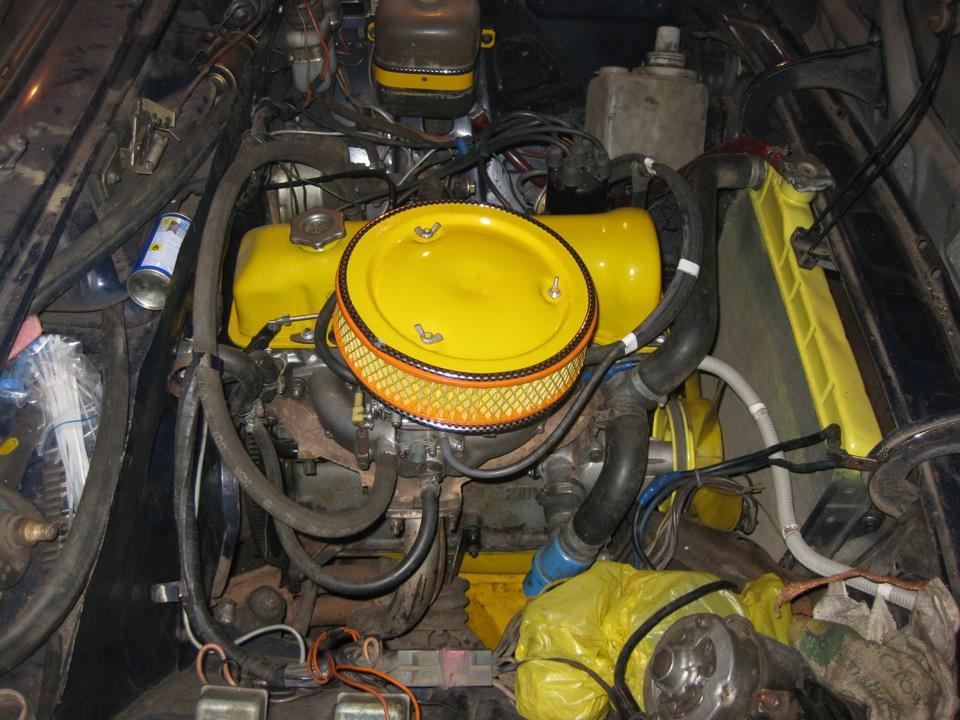 Как снять двигатель с ваз 2106 своими руками