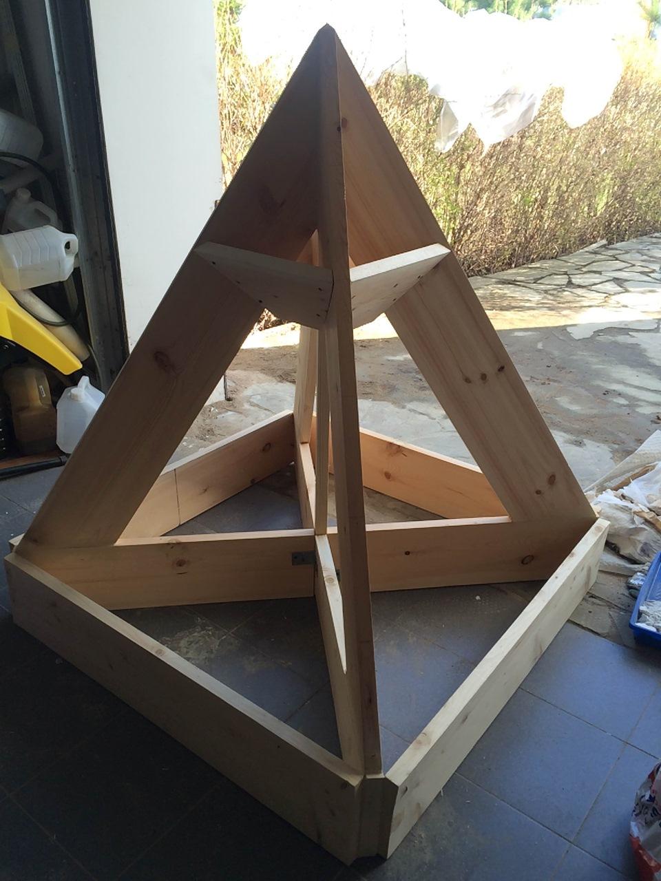 Фото пирамиды своими руками