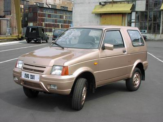 ТАЙНЫ ЗАБЫТЫХ ПОБЕД. ЛуАЗ 1301 *** забытый прототип 90-х. — DRIVE2