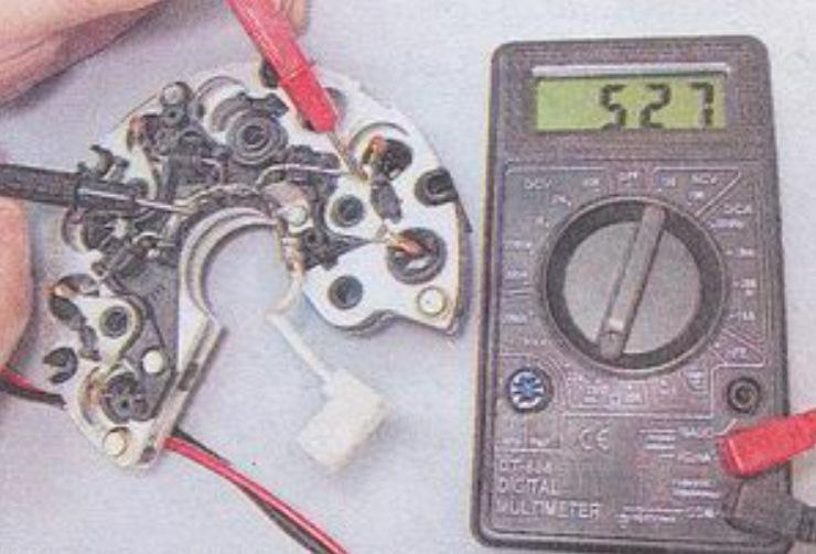 Ремонт диодного моста генератора своими руками