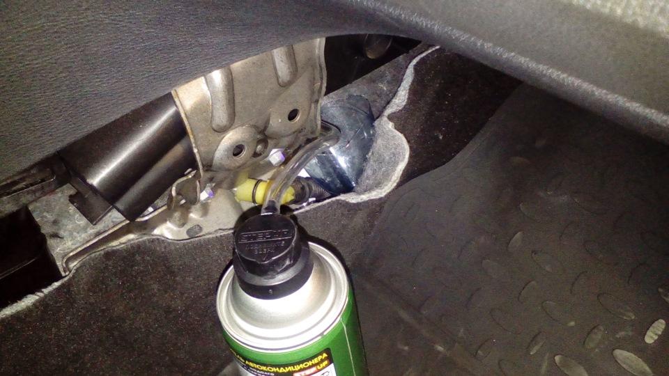 Форд мондео 4 чистка кондиционера своими руками