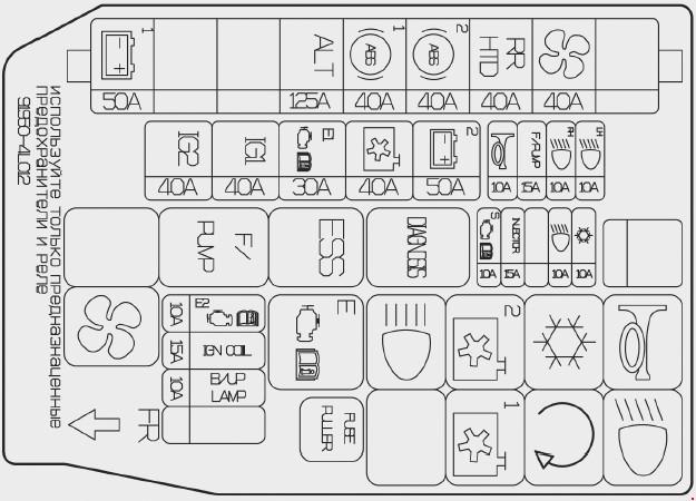 Схема с обозначениями
