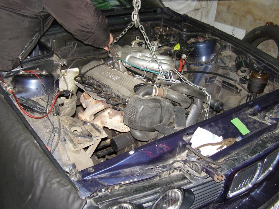 замена мотора м20 на м50(и