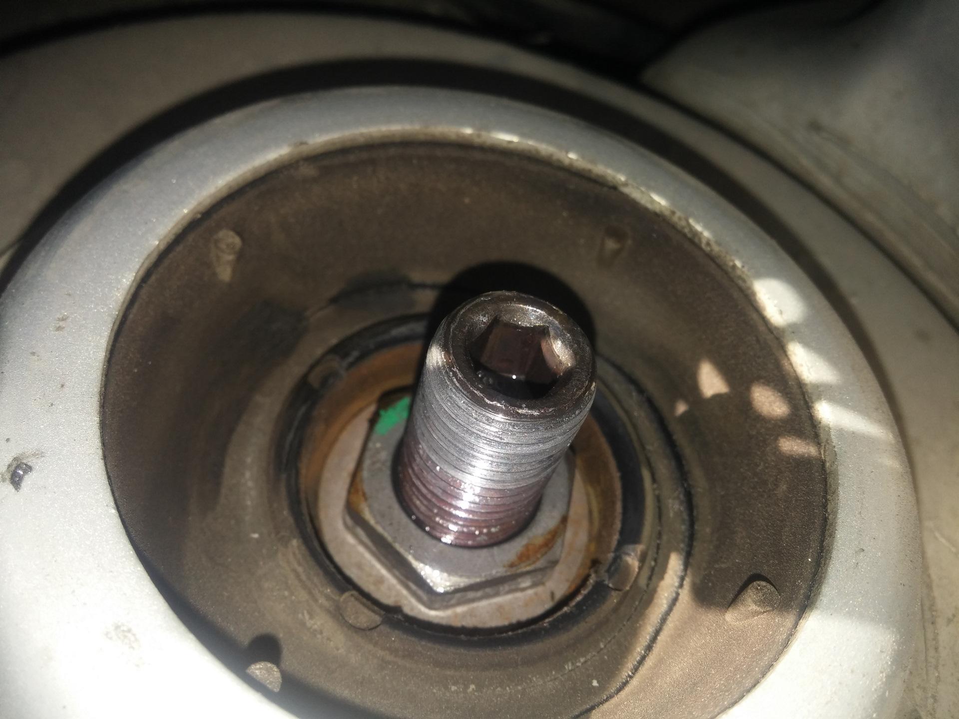 Замена опорных подшипников фольксваген поло Замена масляного насоса ford focus 2
