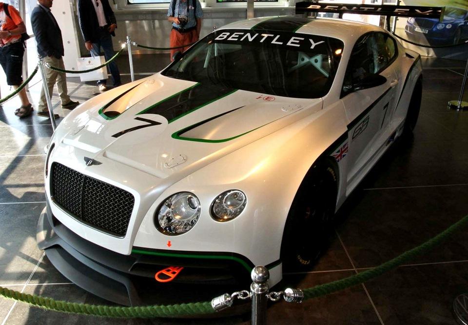 гоночные автомобили bentley