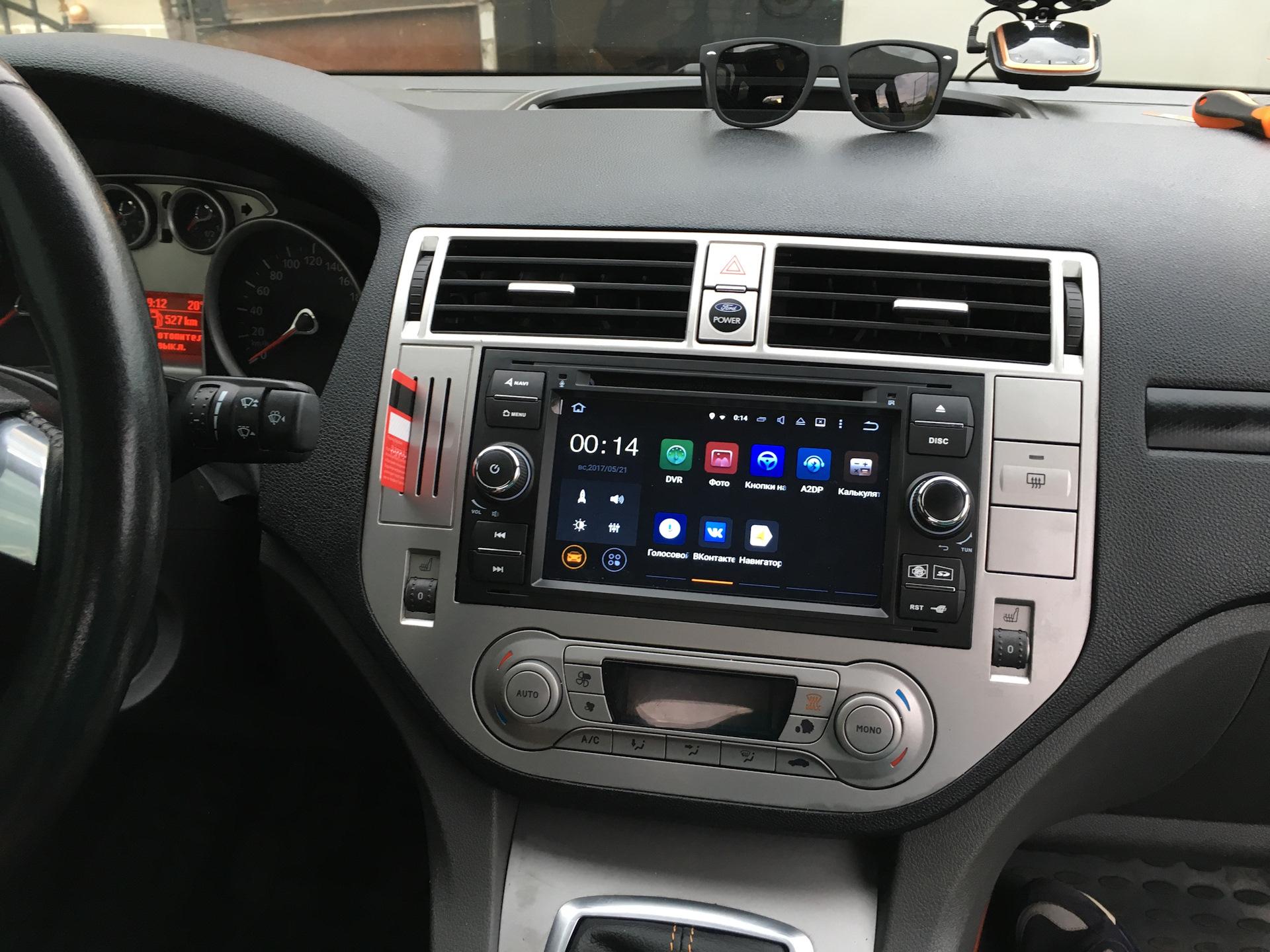 Штатная магнитола Форд — максимальная интеграция в авто