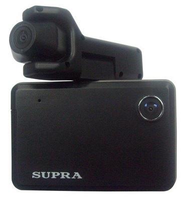 Supra видеорегистратор с двумя камерами
