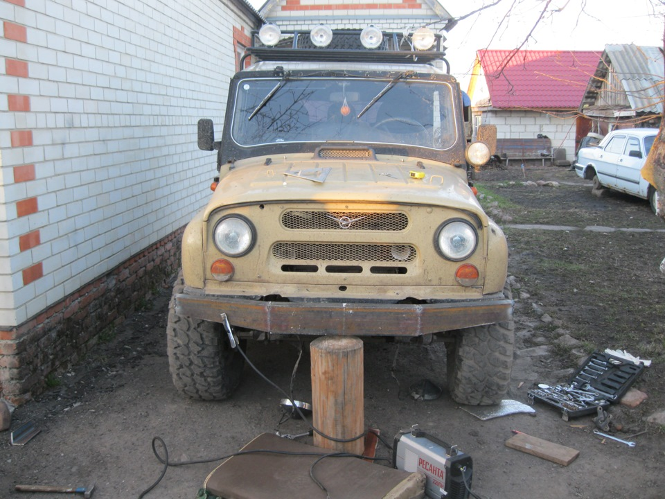 Тюнинг УАЗ 469 своими руками: салон, фото, видео