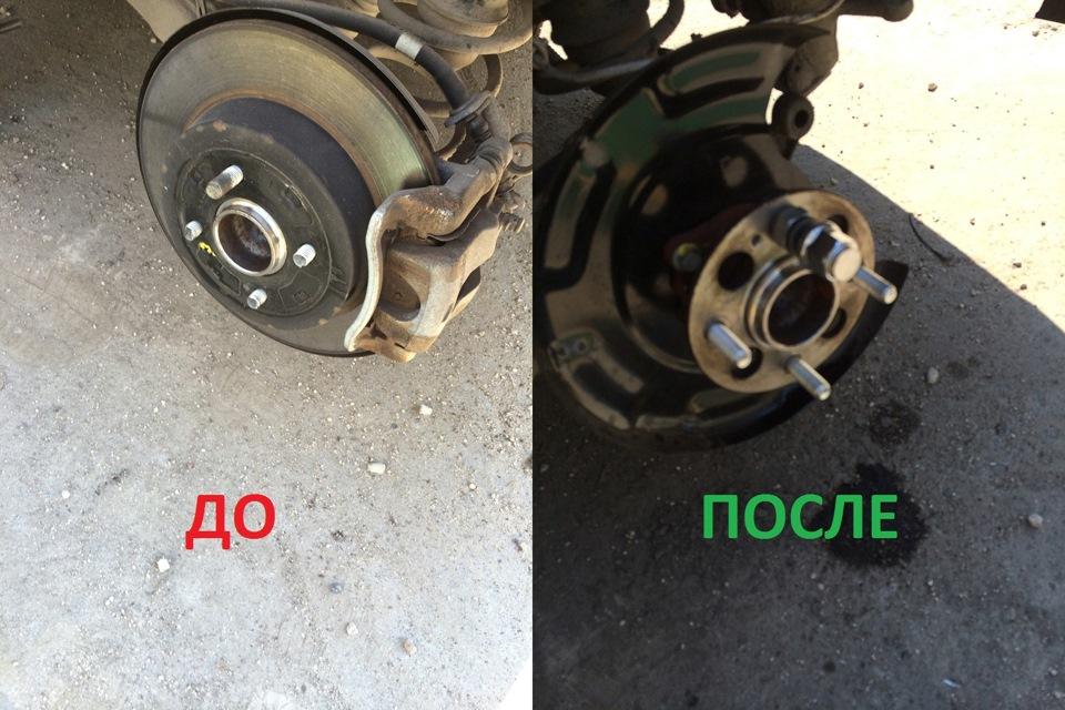 Как заменить колесо на киа рио 2014 своими руками видео