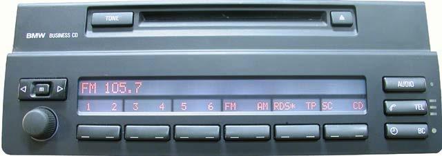 штатные головные устройства на BMW e60