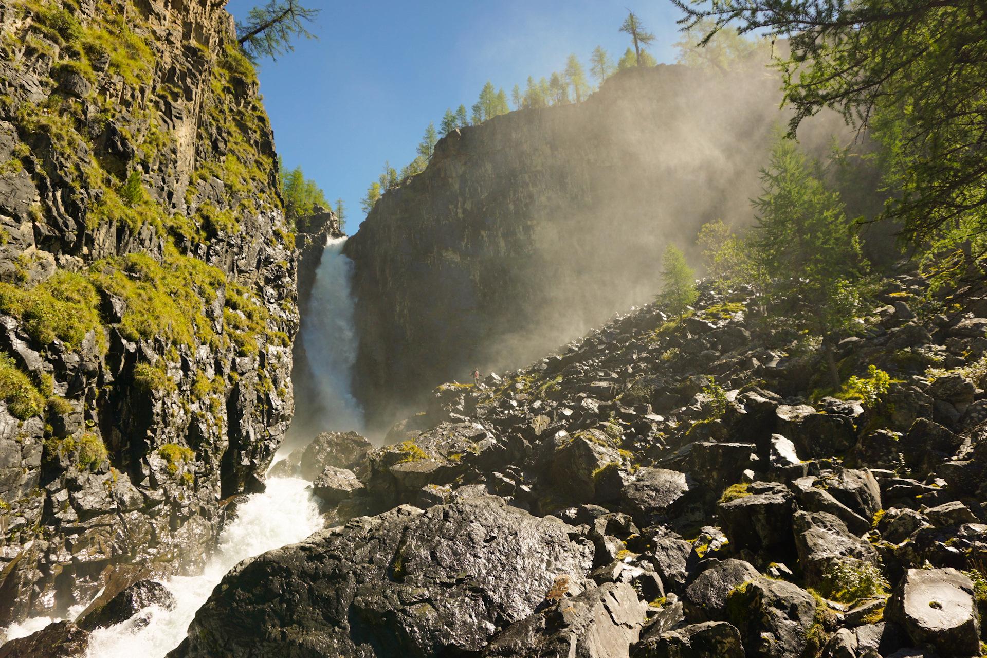 смотреть фотографии водопад текелю алтайский край если