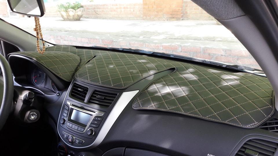 Защита панели автомобиля от солнца своими руками