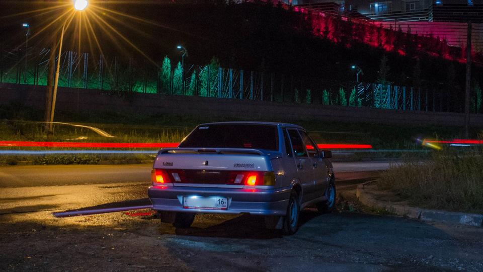 Картинки авто ваз ночь подиумах перед