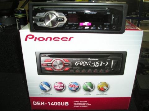 схема подключения pioneer deh-1400ub.