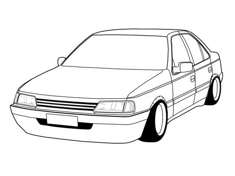 Peugeot 405 2 0 Sri