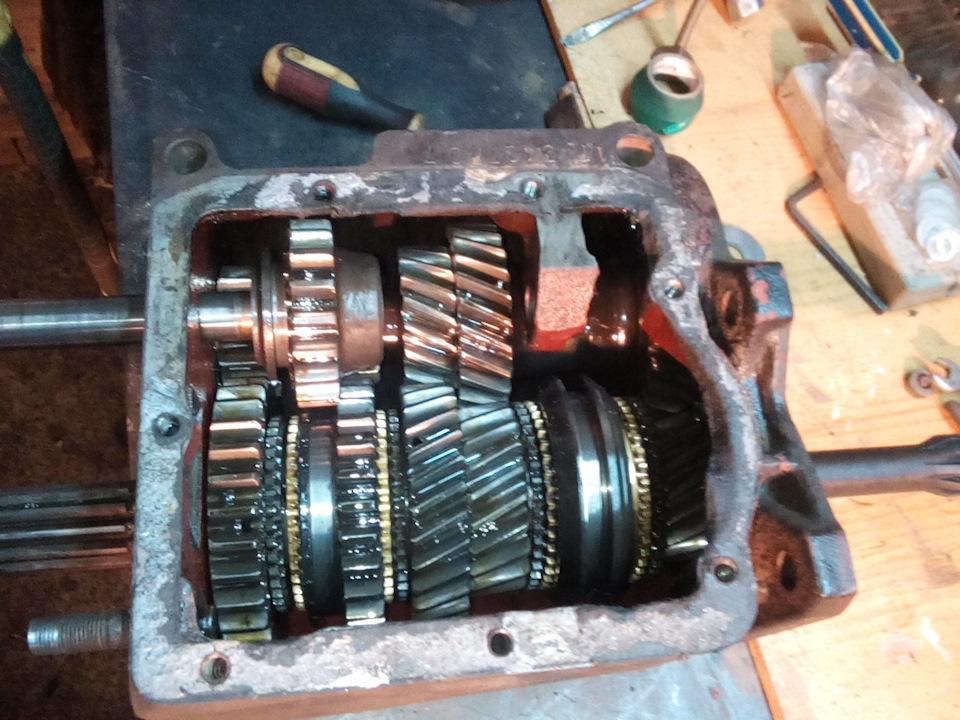 Ремонт коробки передач уаз буханка своими руками 36
