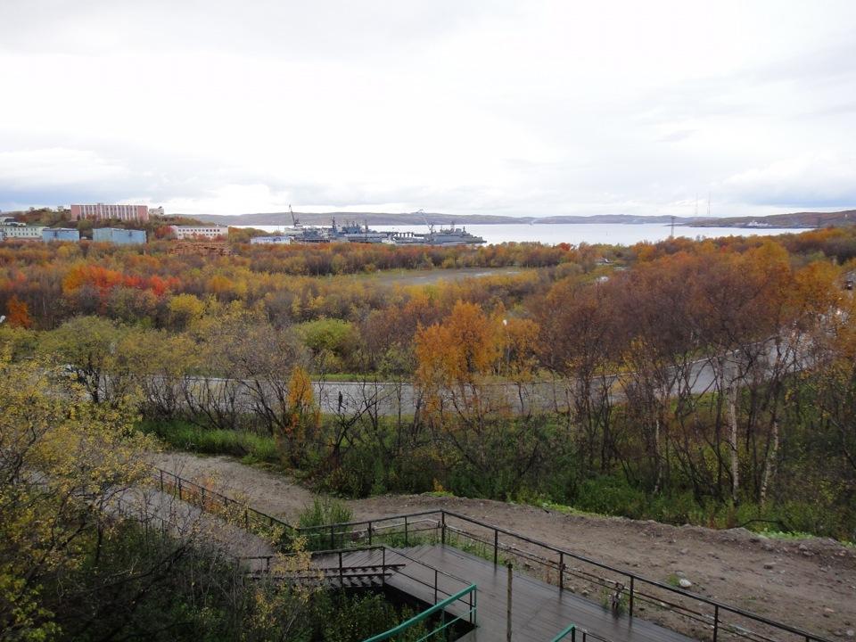 североморск осень в картинках палочек несложно изготовить