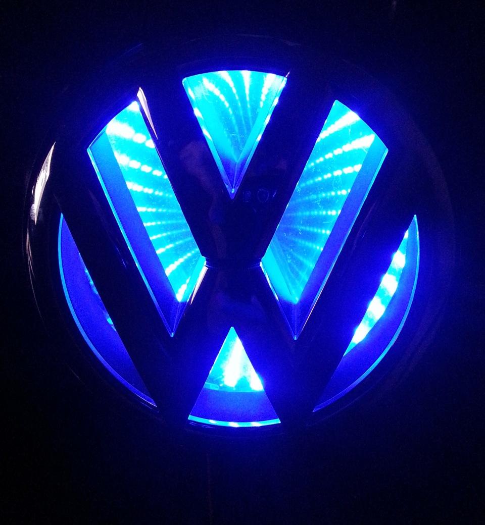 Подсветка  фольксваген