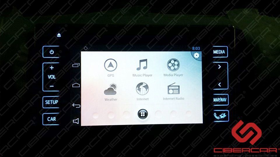 Toyota Hilux 2016 Android AirTouch 4.0.