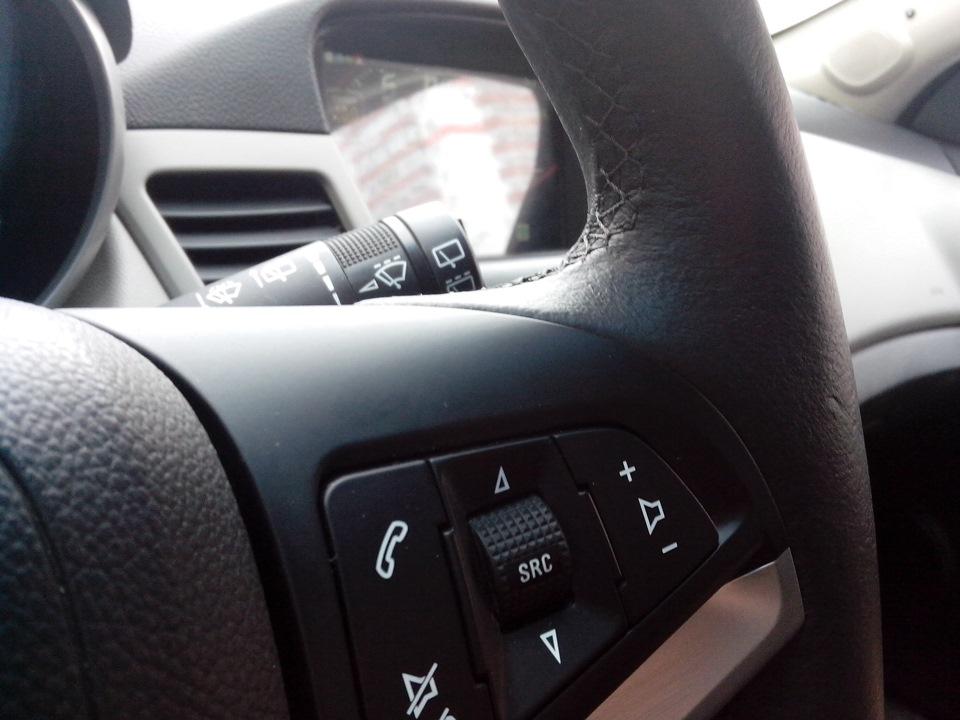 сделать кнопки на руль chevrolet cruze