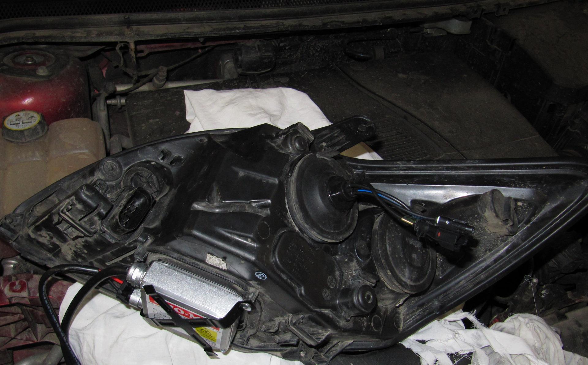 Ксенон на форд фокус 3 установка своими руками