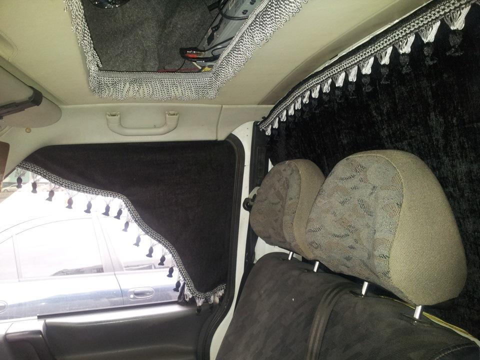 В автомобиль шторы своими руками