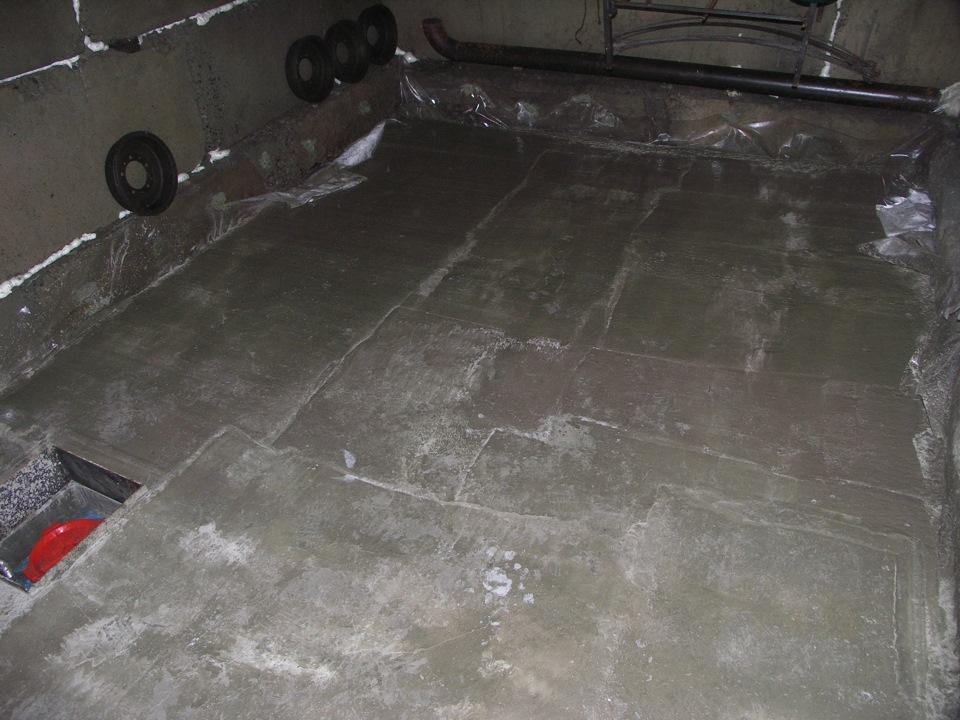 Толщина плиточного клея под плиткой