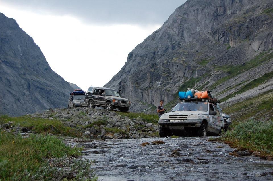Кольский-2014 3. Хибины, Умбозерский перевал. продолжение — Chevrolet Niva,  1.7 л., 2008 года на DRIVE2