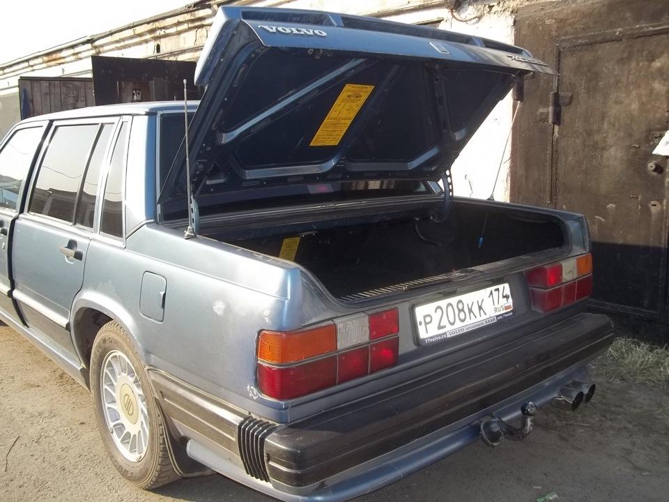 амортизаторы для багажника вольво 740