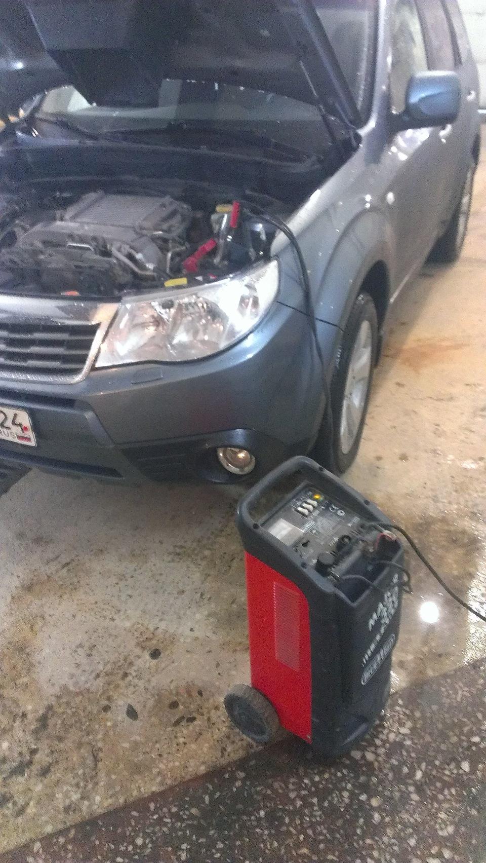 Демонтаж системы рециркуляции газов EGR на Subaru Forester Boxer