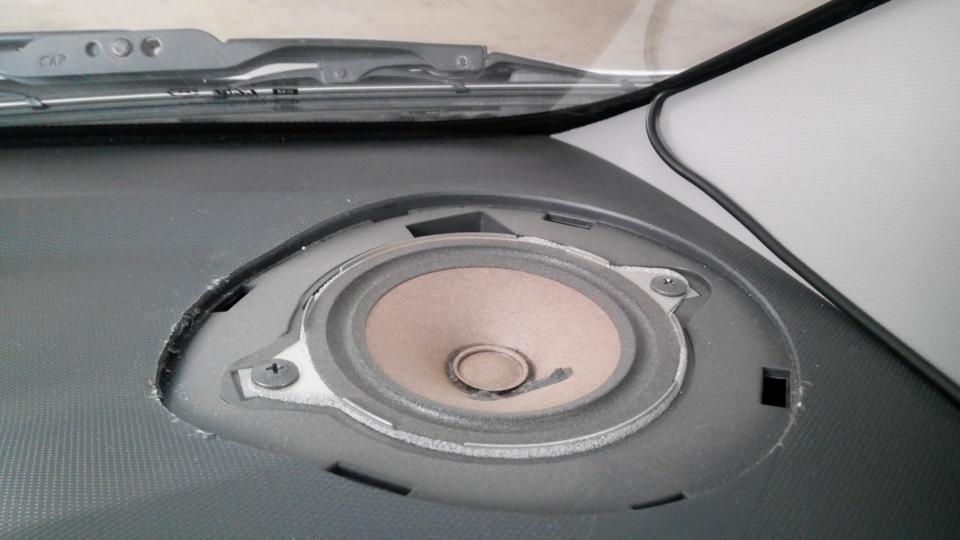 акустика chevrolet spark