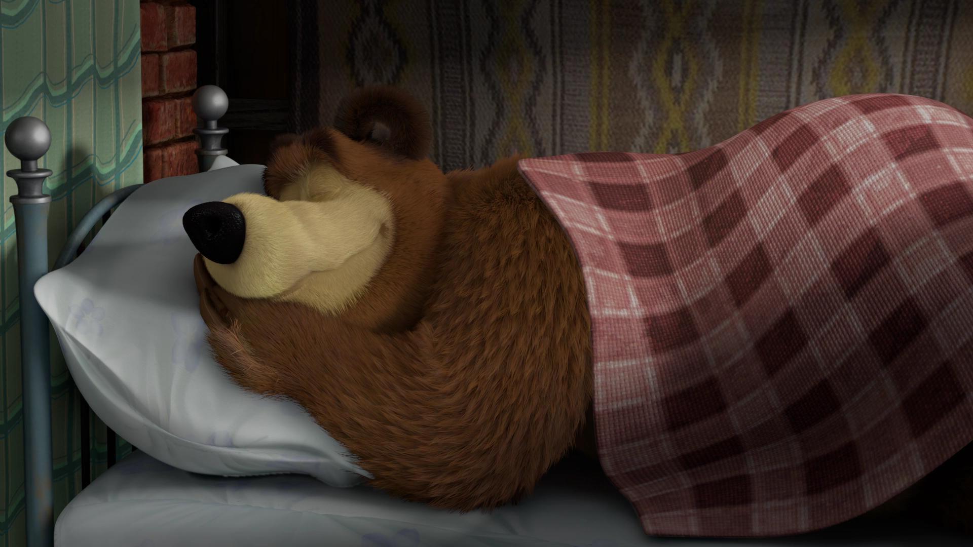 Медвежонок просыпайся прикольная картинка